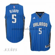 Camisetas Baloncesto Niños Orlando Magic 2015-16 Victor Oladipo 5# NBA Road..